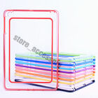 New Candy Thin TPU Silicone Gel Frame Bumper Case Cover For Apple iPad Mini 1 2