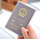 New Clear Transparent Passport Cover Holder Case Organizer ID Card Protector