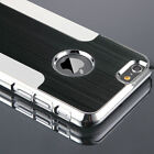 Chrome Metal Brushed Hard Back Case Luxury Thin Cover For Apple iPhone 6 /6 Plus