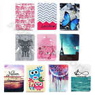 Kickstand Holder PU Leather Card Wallet Bumper Case Cover Fr iPad Samsung Tablet
