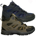 MENS HIKING BOOTS WALKING ANKLE WINTER HI TOP TRAIL TREKKING TRAINERS SHOES SIZE