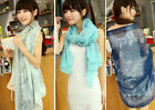 Precision Hot Lady Vintage Long Soft Chiffon Scarf Wrap Shawl Stole Scarves TBUS