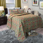 Colorful Twin Size Quilts Many Colors includes 1 Pillow Sham image