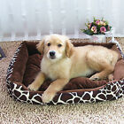 Deluxe Soft Washable Dog Cat Pets Puppy Warm Basket Bed Nest Mat Cushion 70*50cm