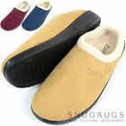 Ladies / Womens Slip On Slippers / Mules with Warm Fleece Lining