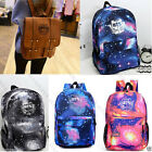 KPOP BTS Starry Sky Satchel Backpack Bangtan Boys Bag Schoolbag Jung Kook Suga V