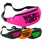 Back To The 80's Bum Bag - 80s Fancy Dress I Love Neon Party Festival Pack Waist