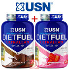 2  X USN Diet Fuel Ultralean Protein 2Kg ( High Meal Replacement )