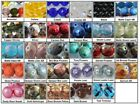 12mm Fire Polished Czech Glass Beads 6 Faceted Round Choose Color New Arrivals