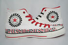 Converse Chuck Taylor All Star White/Red/Black Wheels of Change MEN'S Hi Top