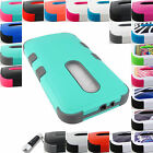 FOR MOTOROLA MOTO PHONES SHOCK PROOF TUFF RUGGED CASE PROTECTIVE COVER+STYLUS