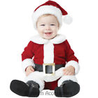 CK570 Santa Baby Infant Christmas Xmas Easter Party Claus Costume Outfit + Hat
