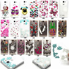 Fashion Transparent Patterns Soft Gel TPU Case Cover Protective For Cellphones