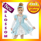 CK86 Cinderella Deluxe Toddler Fancy Dress Book Week Kids Halloween Costume