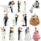 Romantic Wedding Cake Toppers Figure Bride and Groom Couple Bridal Decoration