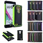 For LG G4 / G3 D850 D855 Hybrid Rugged Rubber Shockproof Hard Impact Case Cover