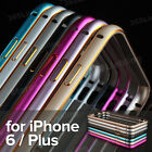 "Luxury Aluminum Ultra-thin Bumper Frame Case Cover for iPhone 6 4.7"" / Plus 5.5"""