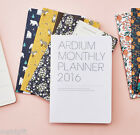 2016 Ardium Monthly Planner Diary Scheduler Journal Agenda Notebook Organizer