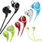 QY8 Wireless Bluetooth Headset Sport Stereo Earphone Headphone For iPhone 7 Plus