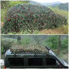 2m X 3m Oxford Fabric Camouflage Net/Camo Netting Hunting/Shooting Hide Army UK