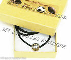Silver BASKETBALL Suede Leather Cord NECKLACE Boys Girls Teen Child Coach Mom