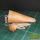 *Auction Yellow Calcite Point Dowsing Pendulum Crystal Dowser Divination