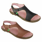 New El Naturalista N326 Torcal Womens Black Brown Vegan Sandals Size UK 4-7