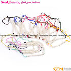 "Rope Bracelet Silver Heart/ball Adjustable 7"" Fashional Jewelry 14 Colors SD6591"