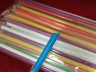 Formosa 100 pcs MIX Colors Straws Individually WRAPPED for ICE TEA COFFEE SEALER CUP