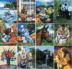 18 DESIGNS OF STRETCHED BOX CANVAS PAINT BY NUMBERS ARTIST ACRYLIC PAINTING KITS
