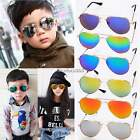 Kids Toddler Sunglasses Shades UV400 MIRROR LENS Children Boys Girls N4U8