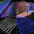 1.5*1.5m 96 LED Bulbs Mesh Net String Fairy Lights Xmas Party Wedding Outdoor