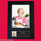 MARY BERRY Great British Bake Off Signed Autograph Mounted PRINT A4 592