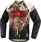 Icon Racing 2016 ADULT Raiden Deadfall Motorcycle Moto Fit Soft Jersey S-3XL