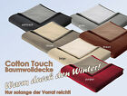 "Aktions - Baumwolldecke ""Cotton Touch"" *Sonderpreis* Tagesdecke Doubleface"