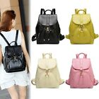 New Vintage PU Leather Travel Shoulder Women Satchel Backpack School Bag Handbag