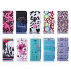Pretty Tide Synthetic Leather Wallet Credit Card Case Stand Cover F Smart Phones