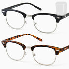 Clubmaster READING GLASSES Retro Vintage - BLACK/TORTOISESHELL +1.0+1.50+2+2.5+3