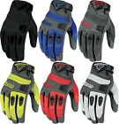 Icon Anthem Street Motorcycle Riding Gloves All Sizes All Colors