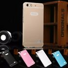 "Slim Metal Aluminum Frame Bumper PC Back Hard Case Cover For 5"" HuaWei Honor 4C"
