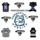 U Conn Huskies NCAA Football Dog Pets First Licensed Team Dog Costume Gamewear