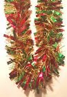 24 FEET - Set of (2) 12ft Strands THICK Christmas Garland Holiday Decorations