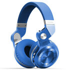 Bluedio T2+ Stero earphones Wireless Bluetooth Foldable Headsets FM/SD Card Mic