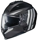 HJC 2015 Adult IS-17 Grapple Street Motorcycle Helmet Black XS-2XL