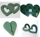 oasis foam heart double solid open broken heart design shapes please choose