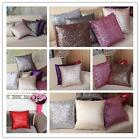 Elegant Glitter Sequins Throw Pillow Case Cafe Home Decor Cushion Case Covers Z