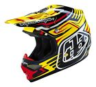 Troy Lee Designs 2016 Air Helmet Scratch Yellow Adult All Sizes