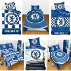 OFFICIAL CHELSEA FOOTBALL BEDDING DOONA COVER SETS BOYS BEDROOM CFC