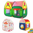 Children Playtent Play House Kids Play Tents Indoor Outdoor Various House Styles