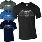 Batman v Superman T-Shirt - Dawn of Justice Superhero Inspired Mens Gift Top